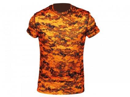 polovnícke tričko AKTIVA S PIXEL blaze HART