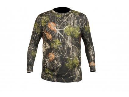 polovnicke tričko CREW L c. Camo forest HART