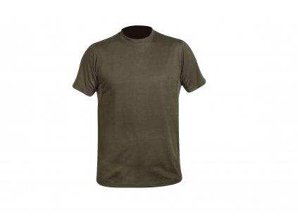 tričko CREW S c. Dark olive HART