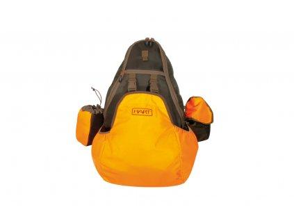 polovnicky ruksak NB 45l bl0aze/green HART