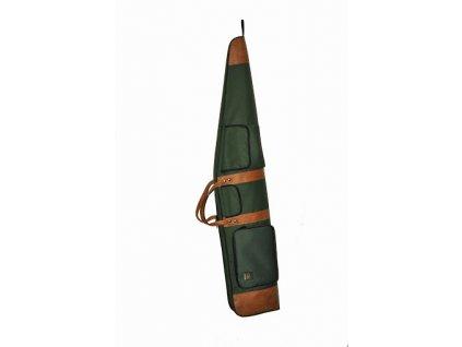 Poľovnícke Puzdro na zbraň s 3 vreckami a koženkou