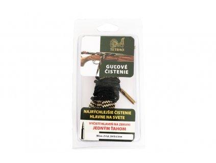 TETRAO poľovnícka šnúra na čistenie guľovnice cal .25 cal .264, 6,5mm