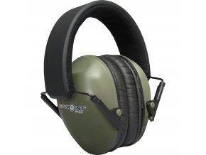 Ochrana sluchu Spy Point EM 24 zelena