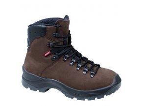 Poľovnícka obuv - topánky Demar Trek M6 hnede