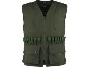 Poľovnícka vesta DUCK khaki-zelený Batex