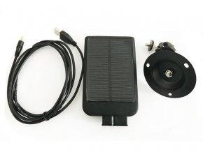 solarny panel na fotopasce 1