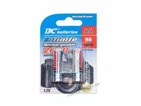Bateria BC AA R06 2600 2BP Infinity RTU nabijacie OK