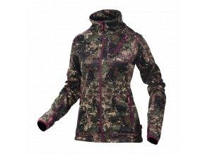 Dámska poľovnícka bunda mikina Alaska W's Juneau Jacket BlindTech Invisible