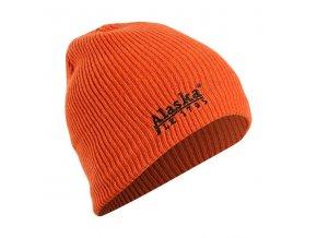 Polovnicka ciapka Alaska Rib Beanie oranzova