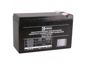 Akumulator pre fotopasce Emos 12v 9ah fa6 3 agm 1