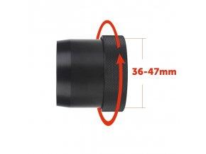 rychloupinaci adapter pre pard nv007 od 36mm do 47mm