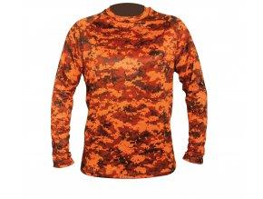 polovnícke tričko AKTIVA L pixel blaze HART