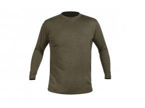polovnicke tričko CREW L c. Dark olive HART