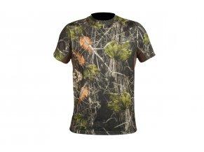 polovnicke tričko CREW S c. Camo forest HART