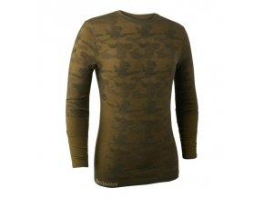 Pánske poľovnícke termo tričko Deerhunter Camou Wool 001
