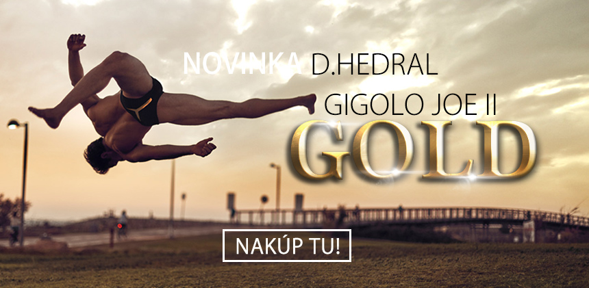 D.HEDRAL Gigolo Joe II GOLD