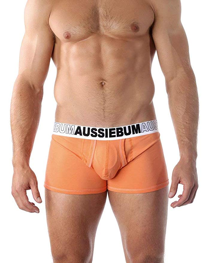 Boxerky AussieBum s kapsou Enlarge IT Hipster Orange3