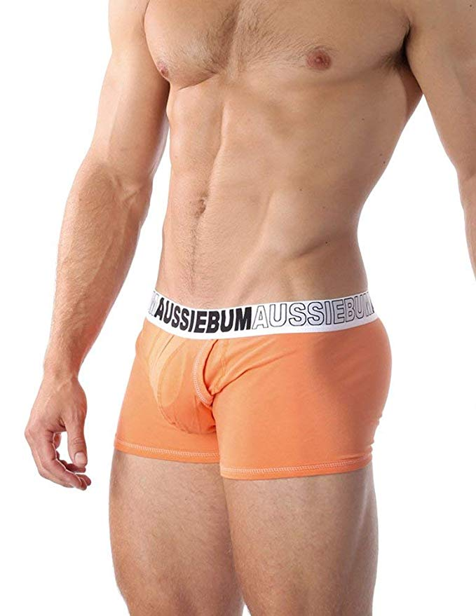 Boxerky AussieBum s kapsou Enlarge IT Hipster Orange4