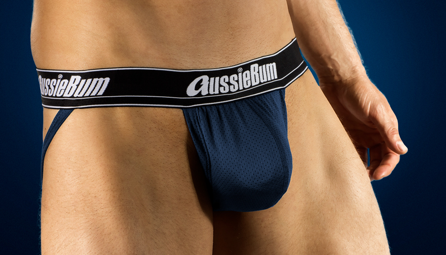 Push-up Jocksy AussieBum s kapsou Wonder Jock AIR Navy2