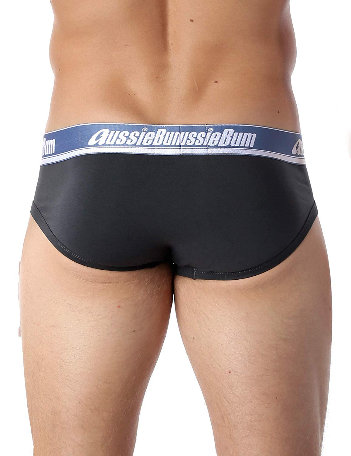 Slipy AussieBum Wonder Jock Pro s Push-up kapsou WJ Charcoal4