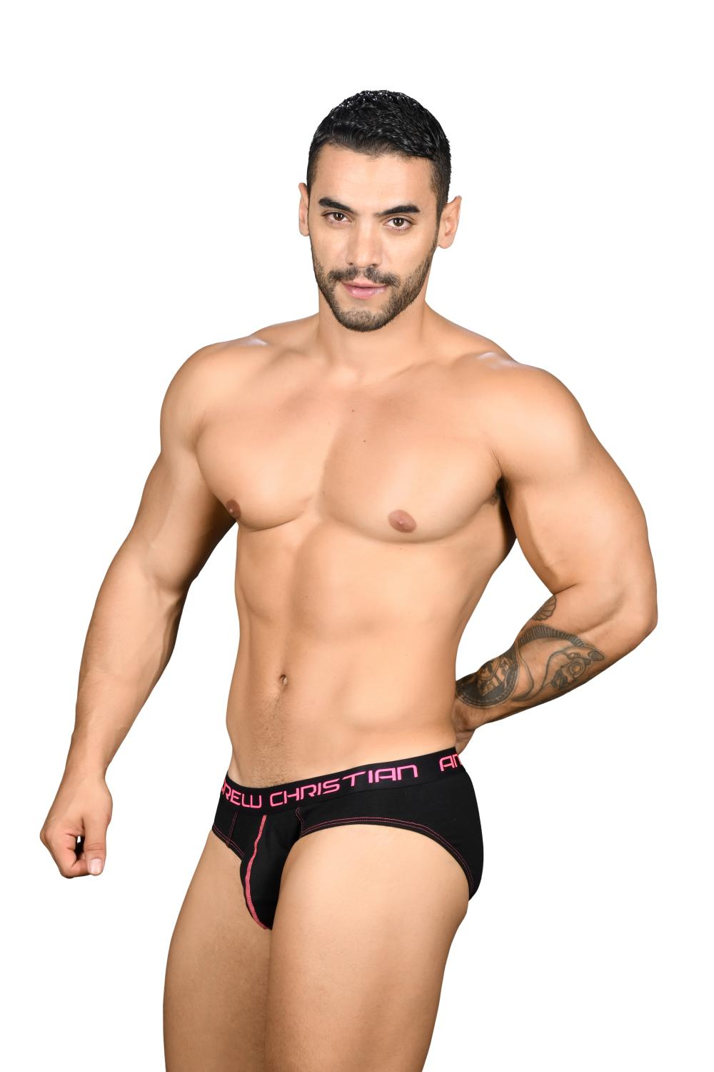 Happy Slipy ANDREW CHRISTIAN Almost Naked Black1