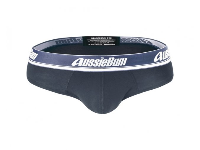 Slipy AussieBum Wonder Jock Pro s Push up kapsou WJ Charcoal1