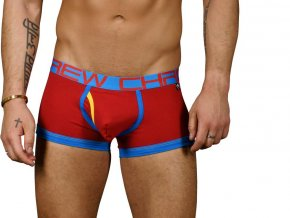 Fly Tagless Boxerky ANDREW CHRISTIAN Almost Naked Red1