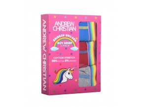 Boy Slipy ANDREW CHRISTIAN Slipy Unicorn MULTIPACK Almost Naked 3kusy v baleen11