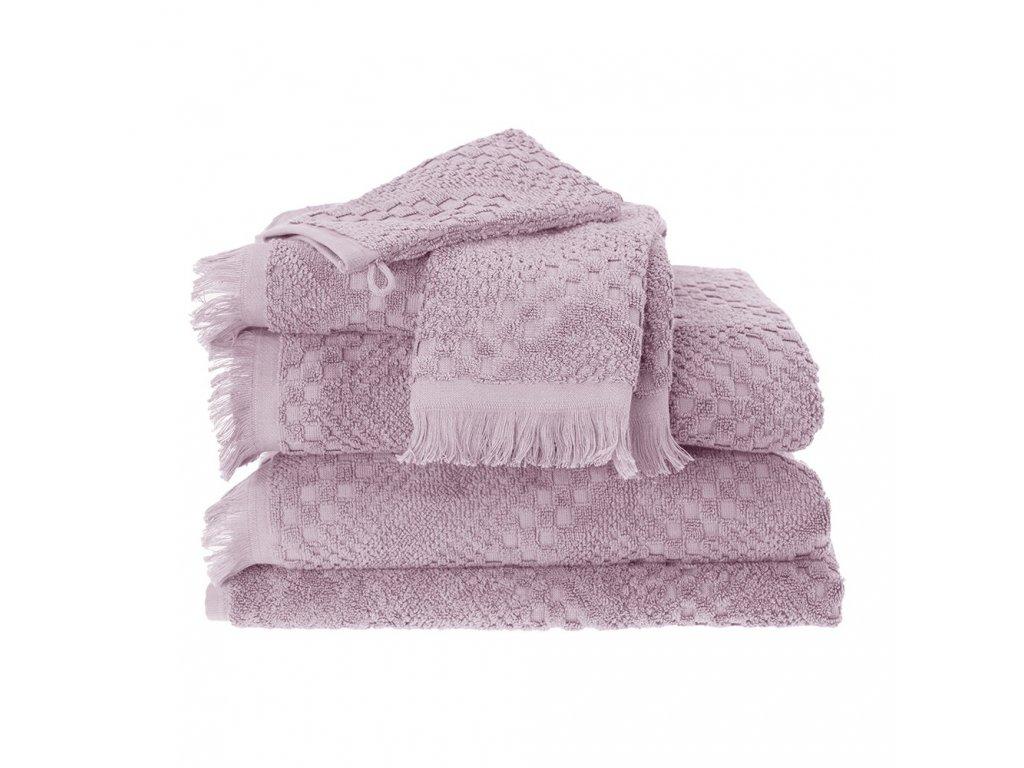BOHEME Rose růžový ručník, Garnier Thiebaut