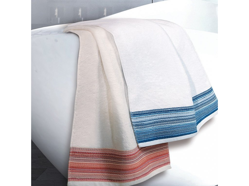 CAP FERRAT modrý ručník, Garnier Thiebaut