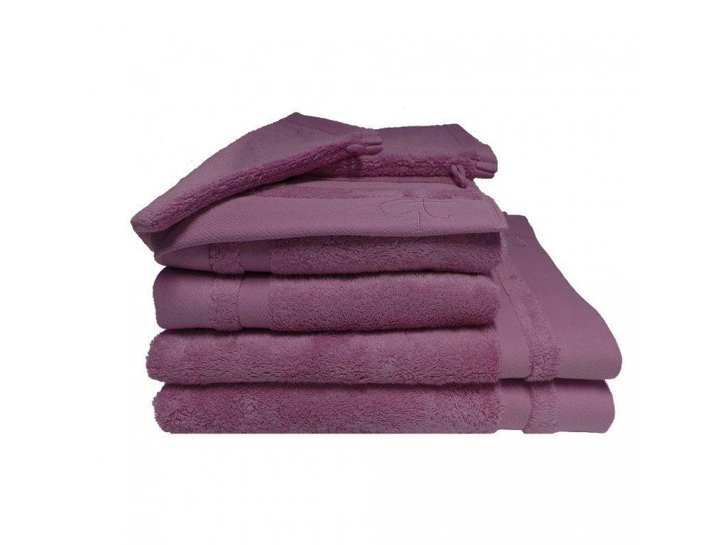 BAMBOU ostružinově fialový ručník, Garnier Thiebaut