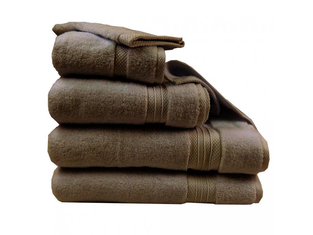 ELEA Châtaigne kaštanově hnědý ručník, Garnier Thiebaut