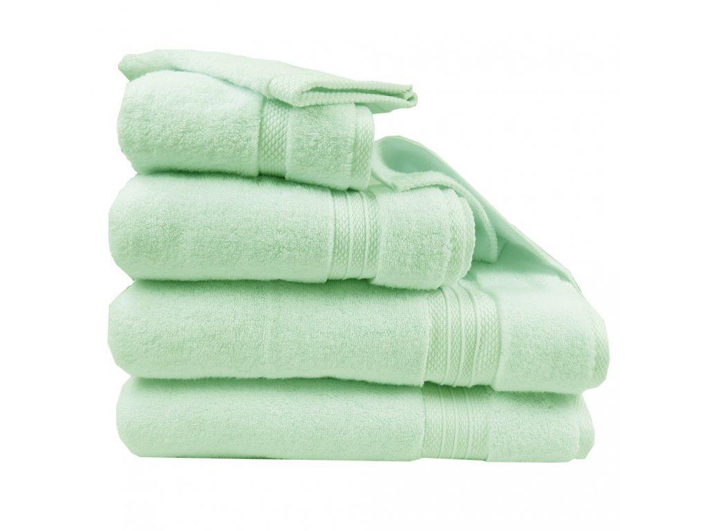 ELEA Amande zelený ručník, Garnier Thiebaut