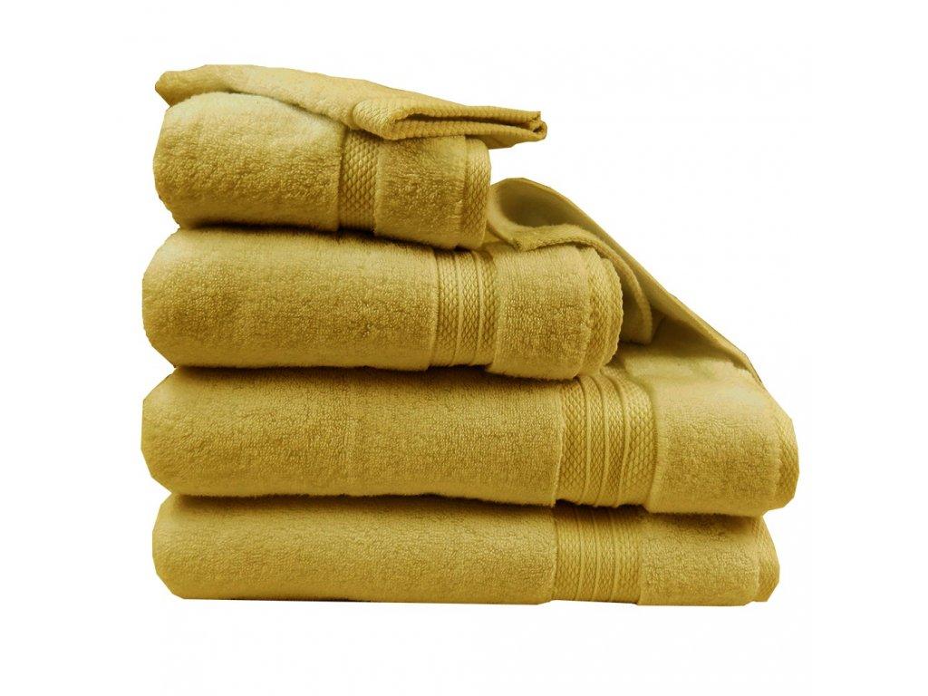 ELEA Curry žlutý ručník, Garnier Thiebaut