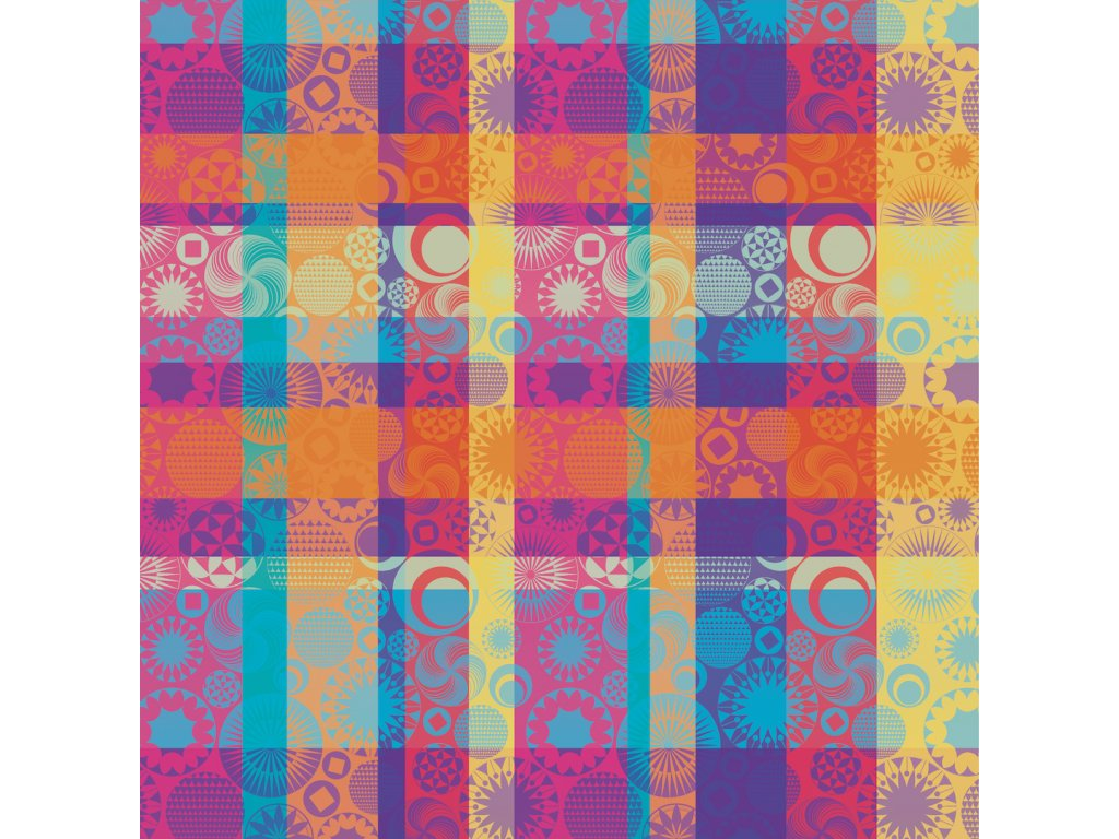 MILLE TORNADES Pop Metrový textil / látka šíře 185 cm
