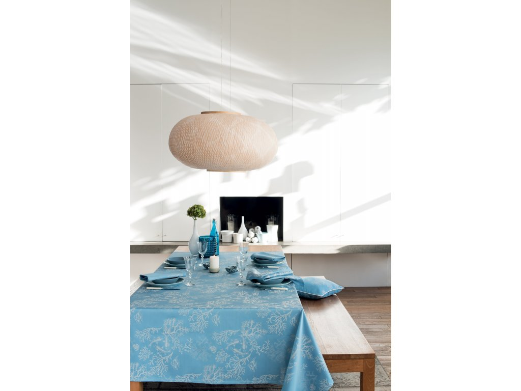 MILLE CORAUX Ocean Kulatý ubrus 180 cm, Garnier Thiebaut