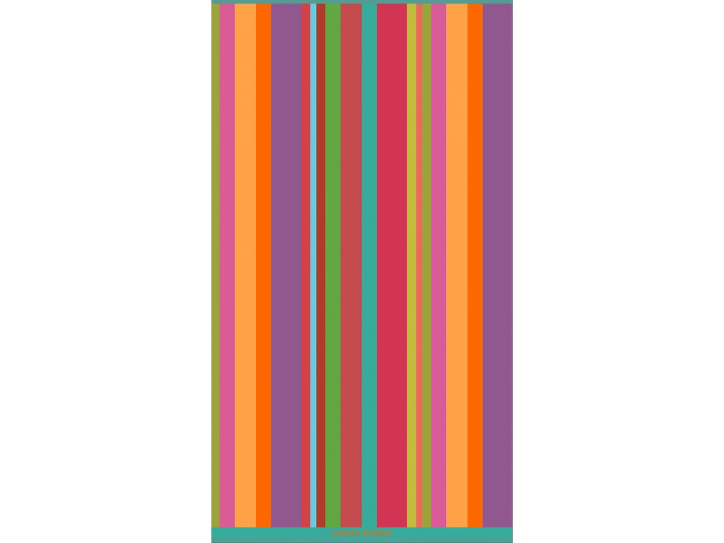 SUNBED Rainbow plážová osuška, Garnier Thiebaut