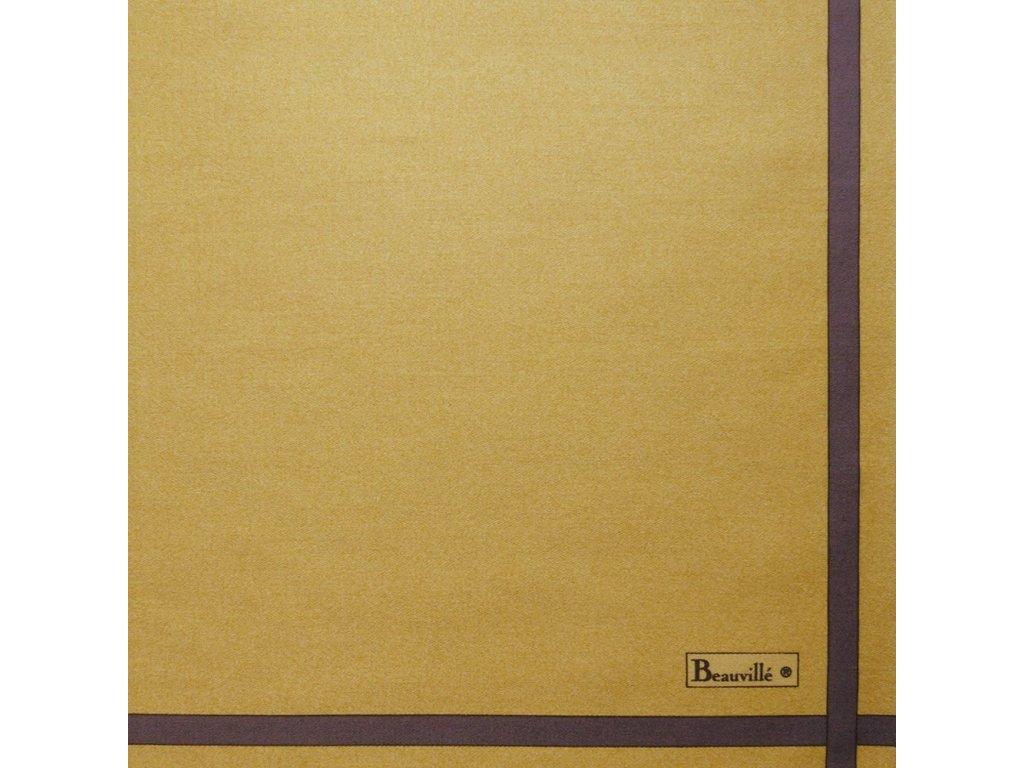Bicolore zlatý ubrousek 52x52 cm, Beauvillé