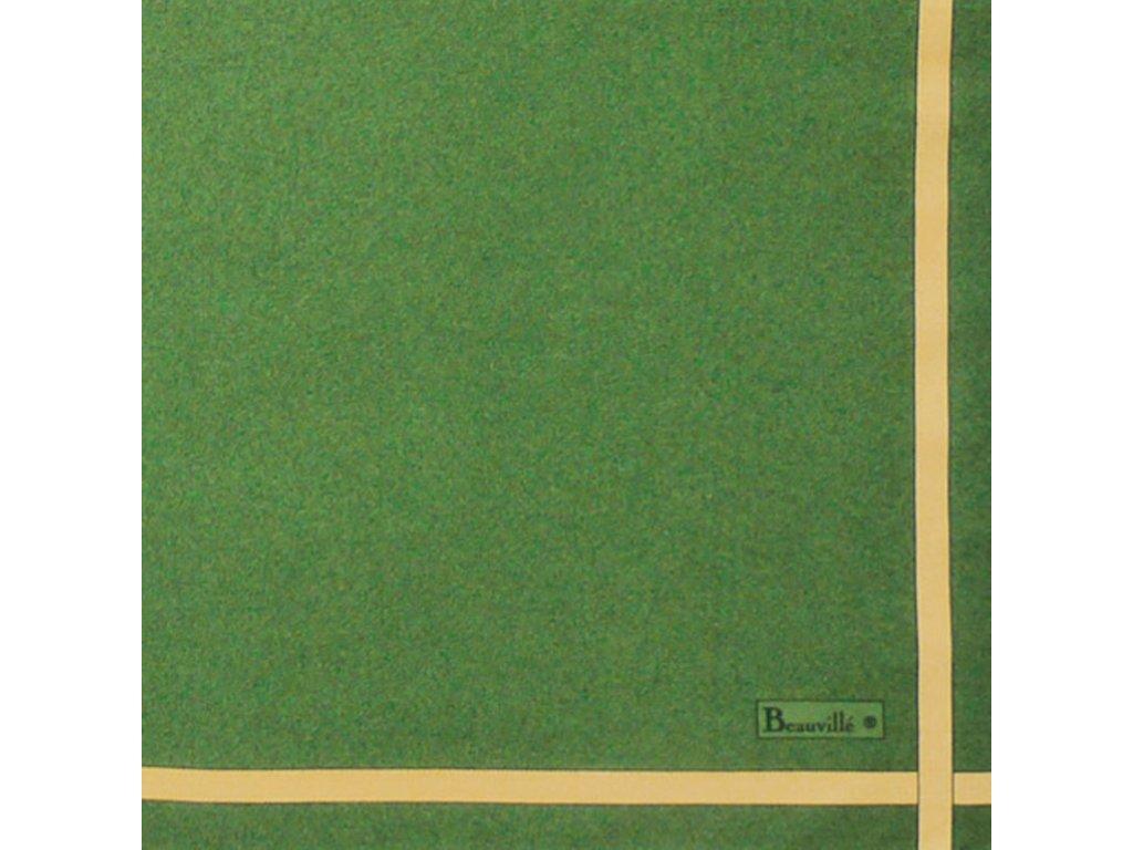 Bicolore zelený ubrousek 52x52 cm, Beauvillé