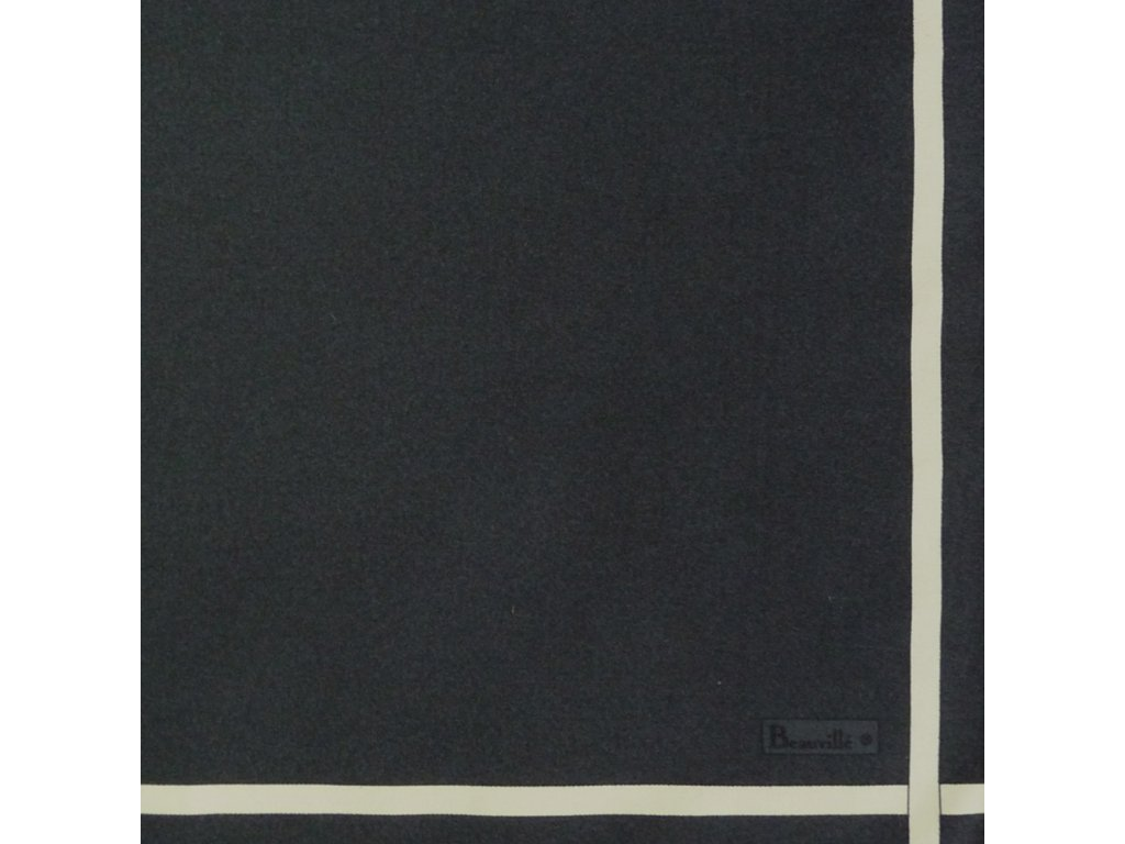 Bicolore šedý ubrousek 52x52 cm, Beauvillé