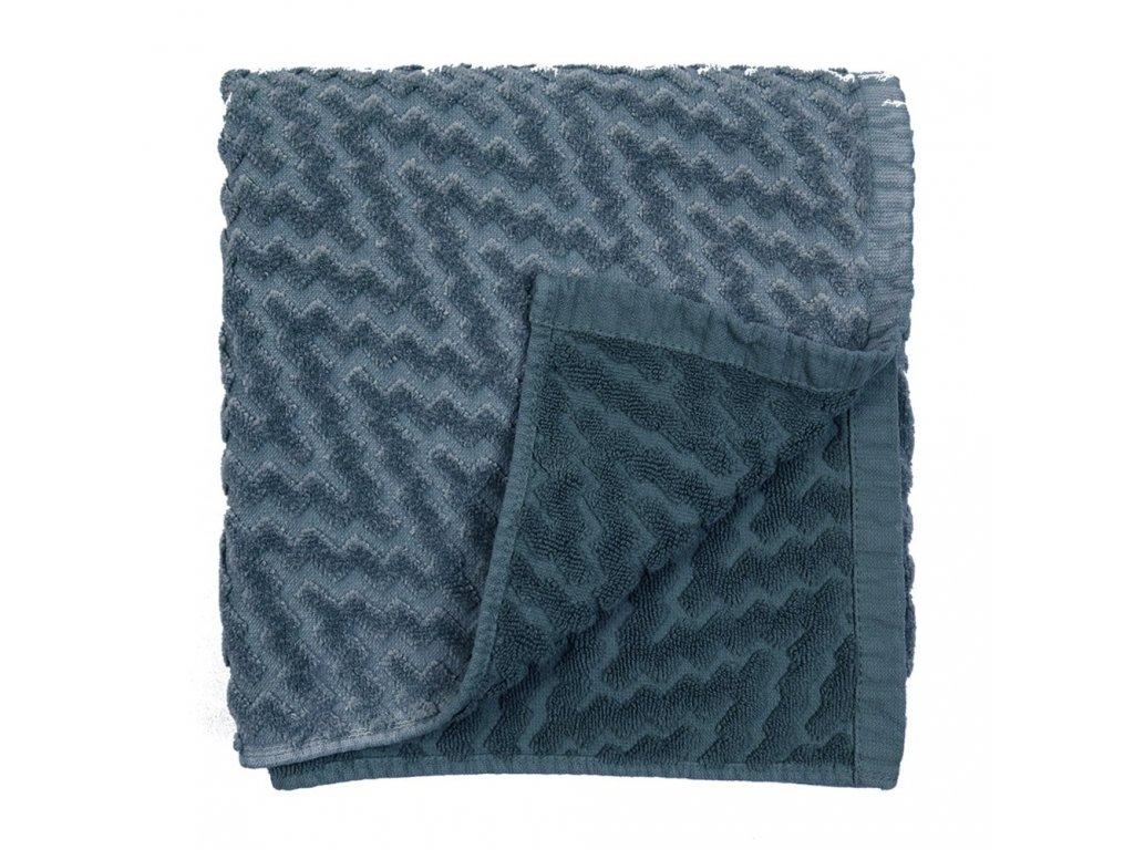STONE Bleu modrý ručník, Garnier Thiebaut