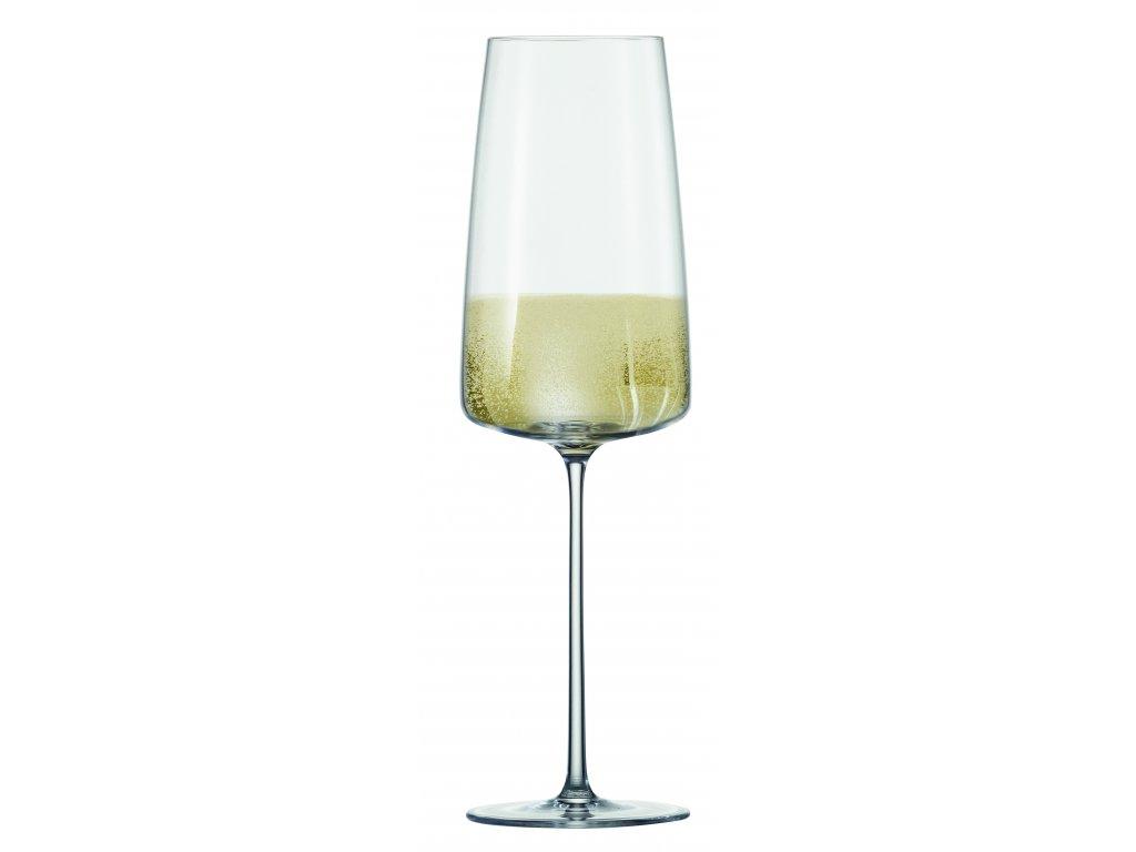 Zwiesel Glas Simplify Lehká a svěží perlivá vína, 6 kusů