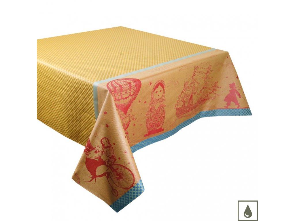 MATRIOCHKAS Oural Ubrus s ochranou proti ušpinění, Garnier Thiebaut