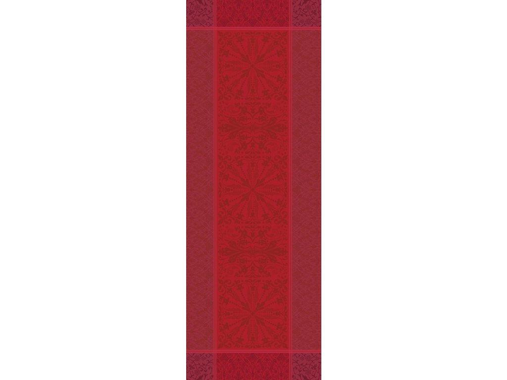 CASSANDRE Grenat Běhoun 52 x 147 cm