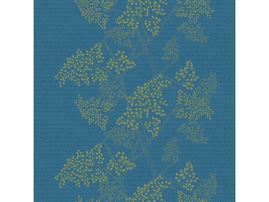 MILLE BRANCHES Paon Metrový textil / látka šíře 185 cm