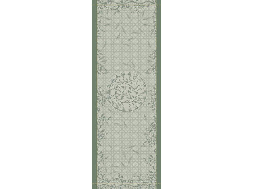 PERSÉPHONE Olive Běhoun 55 x 150 cm