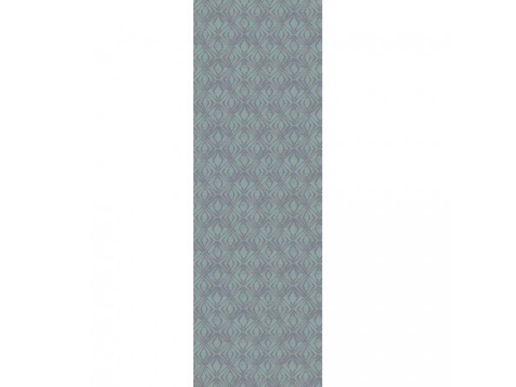 MILLE IKATS Zinc Běhoun 55 x 155 cm