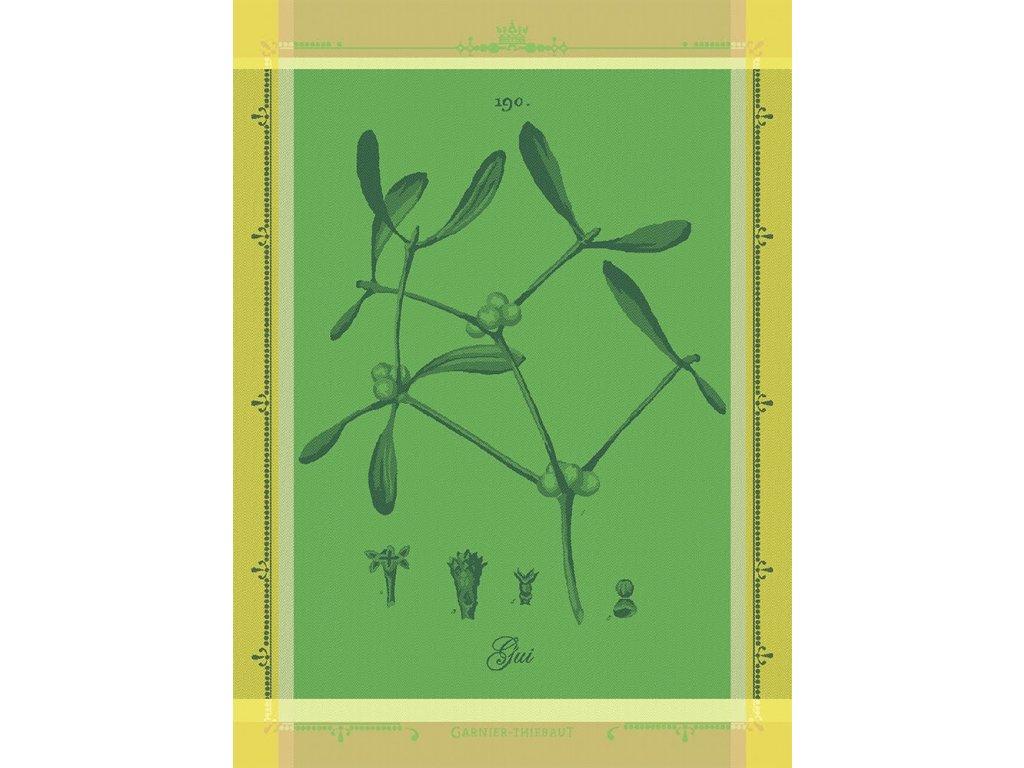 GUI BOTANIQUE Vert Utěrka 56 x 77 cm