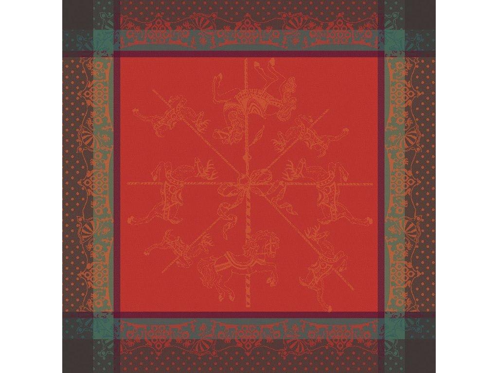 CARROUSEL NOEL Ubrousek 55 x 55 cm