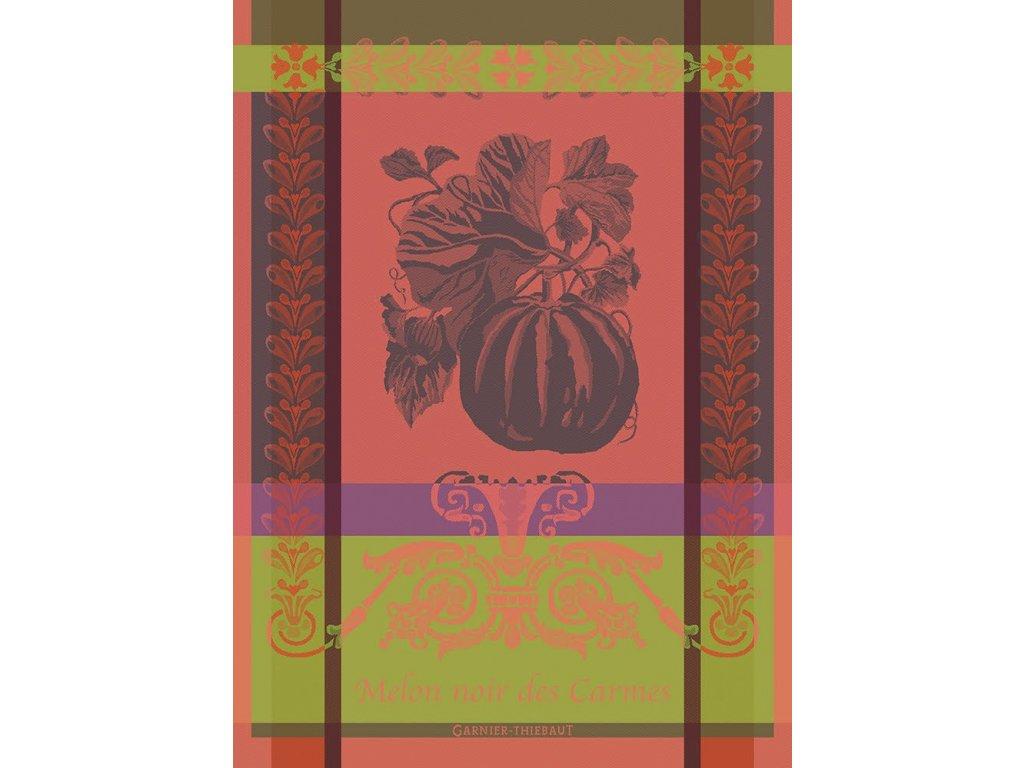 MELON NOIR Rouge Orange Utěrka 56 x 77 cm KONČÍ!!!
